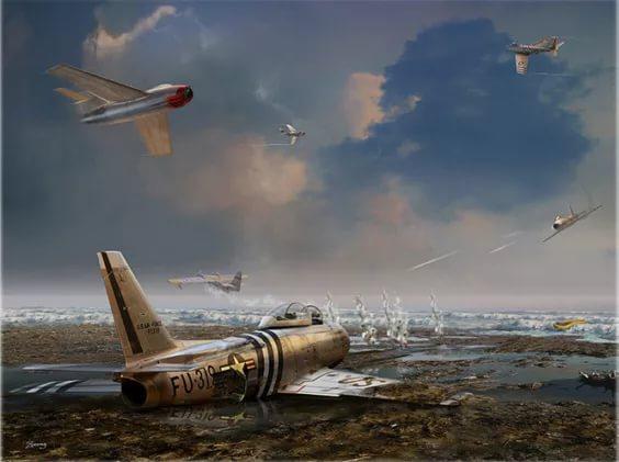 Картинки по запросу картина воздушного боя во вьетнаме